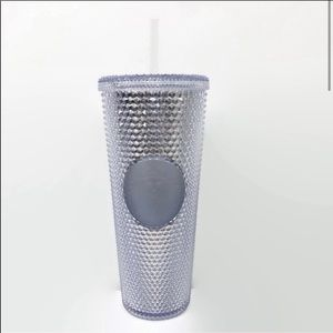 Starbucks Holiday Studded Silver Cup